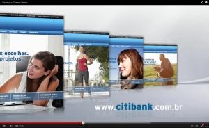 Vídeos para o site CITIBANK - Conteúdo Online