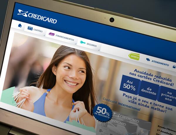 Credicard - novo site