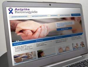 Site Artrite Reumatóide - Conteúdo Online