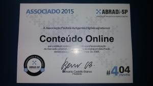 Conteúdo Online recebe reconhecimento da Abradi – SP
