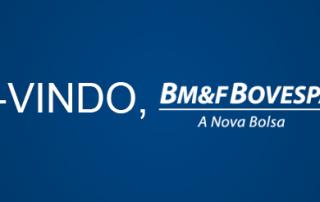Bem-vindo, BM&FBOVESPA