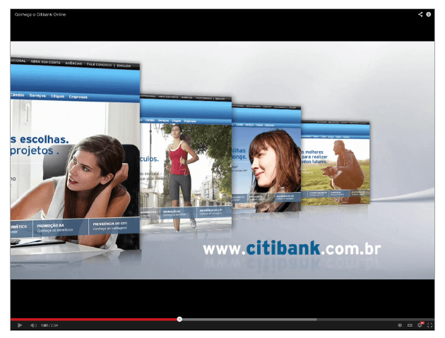 Case Citi - vídeo - Conteúdo Online