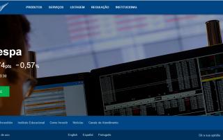 Produção de conteúdo novo portal BM&F Bovespa