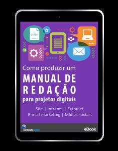 Conteúdo Online - [E-book] Como produzir um manual de redação para projetos digitais