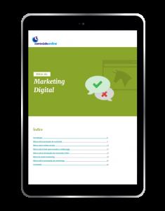 Conteúdo Online - Mitos do marketing digital