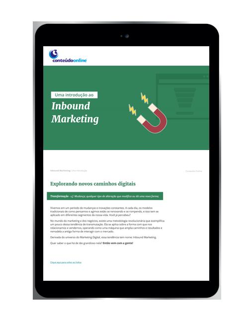 Uma introdução ao Inbound Marketing - Conteúdo Online