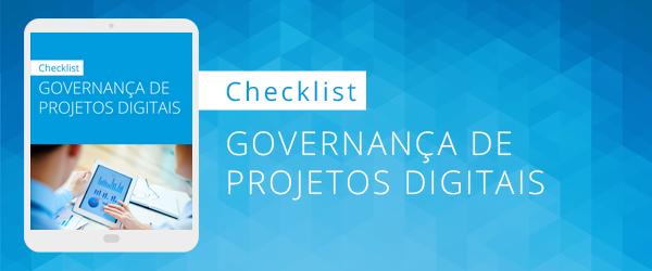 [Checklist] Governança de projetos digitais