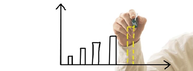 Métricas e KPIs representados em uma ilustração de gráfico | Conteúdo Online
